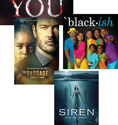 Meet us and our opinions – Siren, You, Black-ish andmore